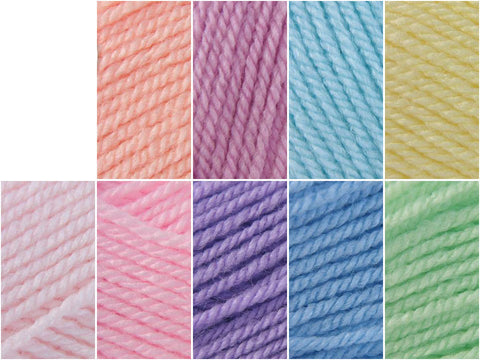Stylecraft Special DK Pastel Rainbow Colour Pack
