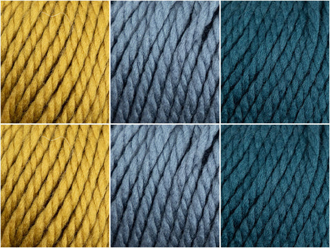 Rowan Big Wool Peafowl Colour Pack