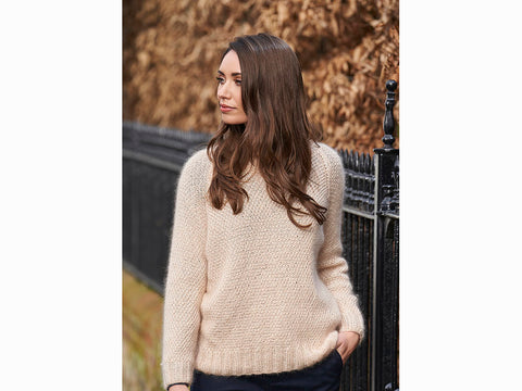 Phillipa Sweater by Lisa Richardson in Rowan Selects Sultano Fine