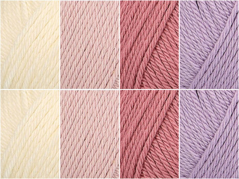 Rowan Baby Cashsoft Merino Pretty in Pink Colour Pack