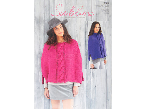 Ponchos in Sublime Lola (6126)