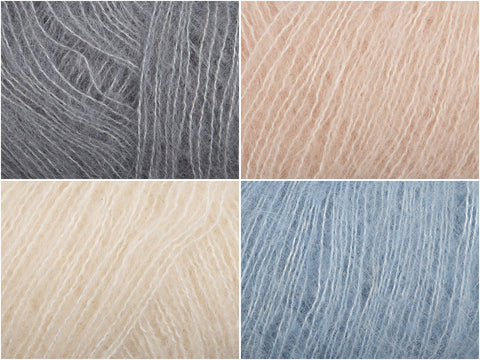 Powder Sky Colour Pack in Rowan Cashmere Haze