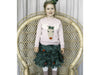 Children's Reindeer Sweater in Novita Venla