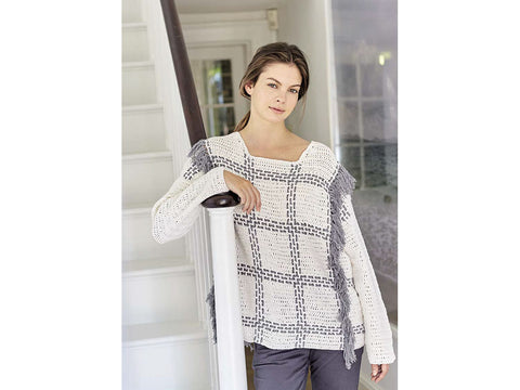 Marin Crochet Kit and Pattern in Rowan Yarn