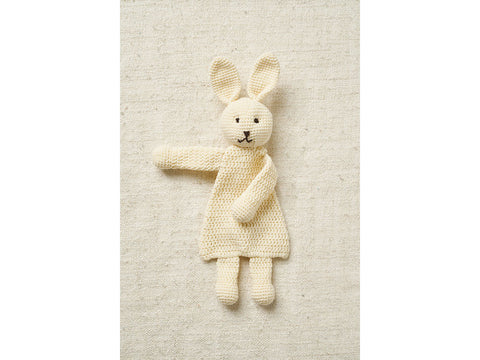 Rabbit Flat Toy in Patons Fab DK
