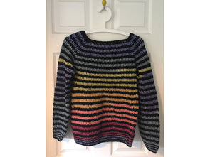 Raglan Sleeve Jumper by Fran Morgan in Stylecraft Special DK