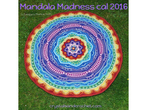 Mandala Madness by Crystals & Crochet in Scheepjes Merino Soft, Colour Crafter & Stone Washed XL