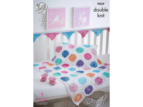 Crochet Baby Accessories in King Cole Vogue DK and Bamboo Cotton DK - Kit