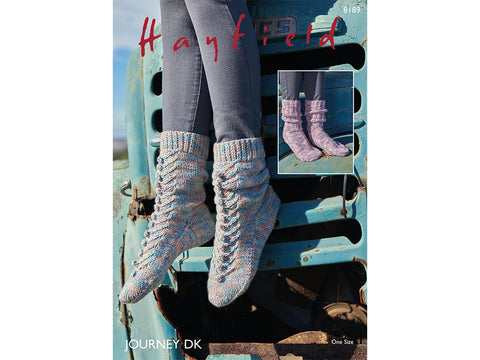 Socks in Hayfield Journey DK (8189S)