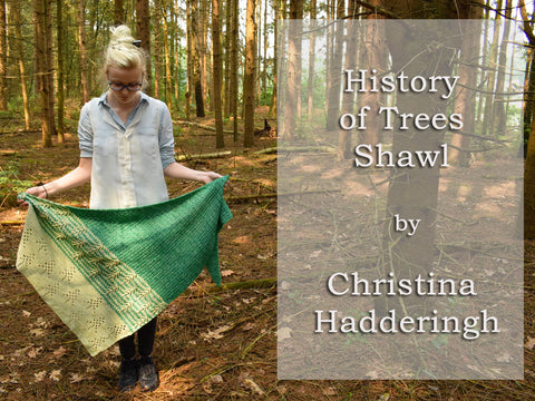 History of Trees CAL by Christina Hadderingh in Scheepjes Stone Washed & River Washed