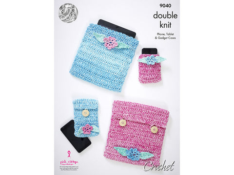 Crochet Gadget Accessories in King Cole Vogue DK