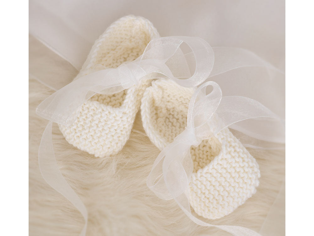 Babies Shoes in Sublime Baby Cashmere