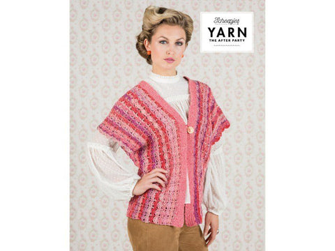 YARN The After Party 16 - Coral Dreams Cardigan