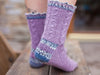 Signature Socks by Emma Wright in West Yorkshire Spinners Signature 4 Ply