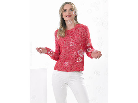 Ladies Sweater in James C. Brett Bubbalicious DK (JB535)