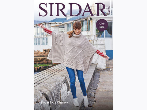 Poncho in Sirdar No.1 Chunky (8179S)