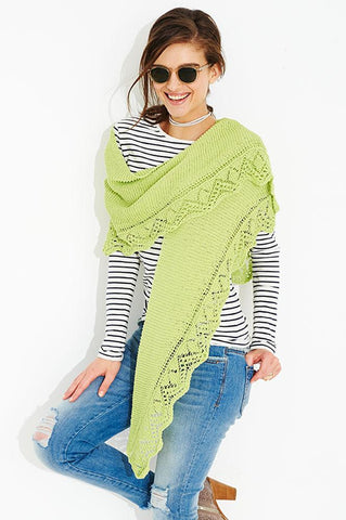 Shawls & Scarf in Stylecraft Classique Cotton 4 Ply (9517)