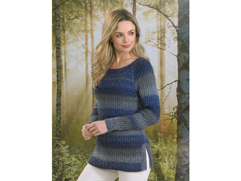 Ladies Sweater in James C. Brett Landscape DK (JB495)