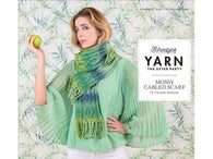 YARN The After Party 12 - Mossy Cabled Scarf