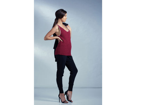 Vest Top in Rowan Selects Mako Cotton
