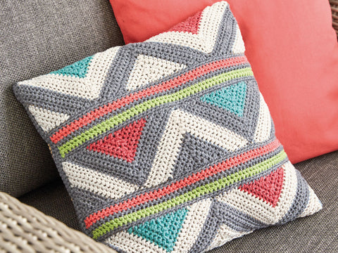 Cushion Cover in Patons Summer Cotton