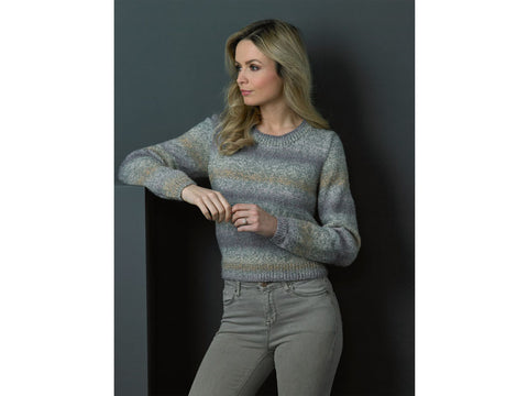 Ladies Cardigan & Sweater in James C. Brett Marble DK (JB502)