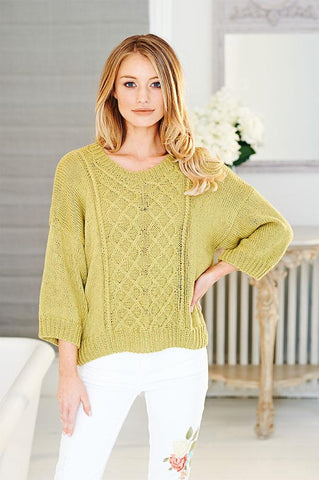 Ladies Sweaters in Stylecraft Linen Drape (9512)