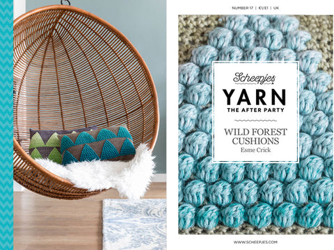 Scheepjes Yarn The After Party Wild Forest Cushions Kit