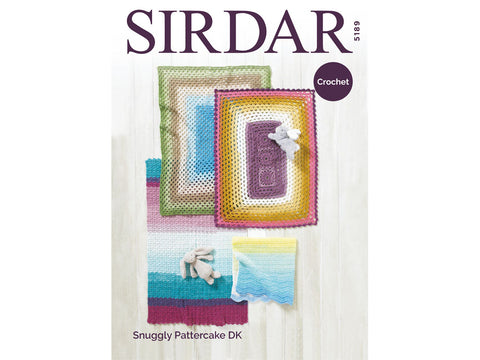 Blankets Crochet Kit and Pattern in Sirdar Yarn (5189)