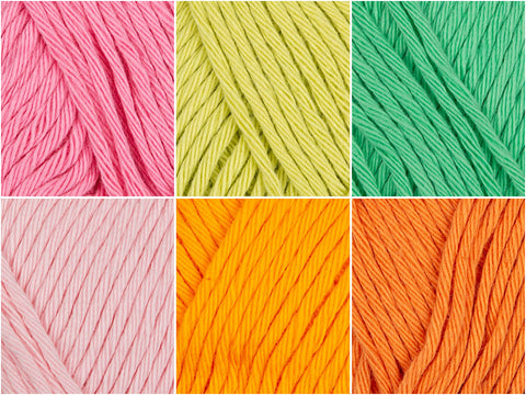 Rico Design Creative Cotton Aran Paradise Colour Pack