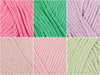 Rico Design Creative Cotton Aran Rose Garden Colour Pack