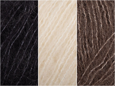 Roasted Marshmallow Colour Pack in Rowan Cashmere Haze