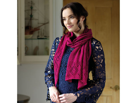 Rosalyn Shawl in West Yorkshire Spinners Exquisite Lace