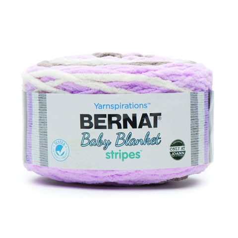 Bernat Baby Blanket Stripes