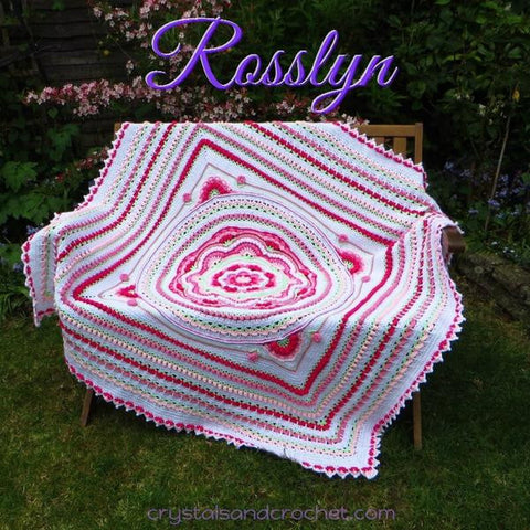Rosslyn Blanket Pattern by Helen Shrimpton - Digital Version