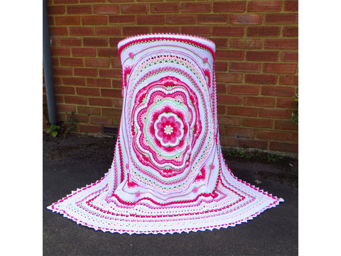 Rosslyn Blanket by Crystals & Crochet in Stylecraft Special DK