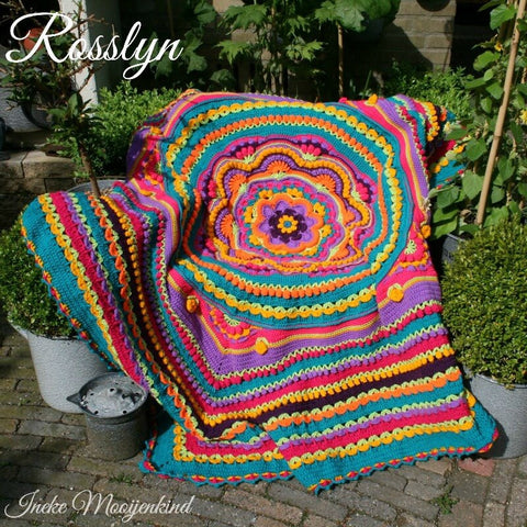 Rosslyn - Blanket - Stylecraft Special DK - Happy Rosslyn