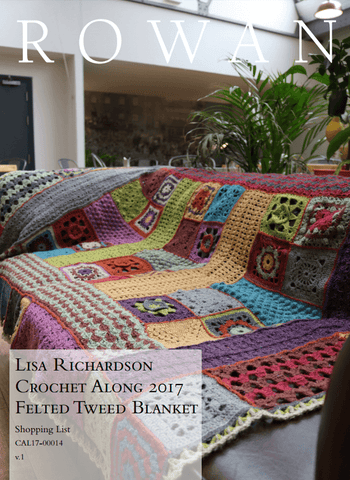 Rowan Felted Tweed Blanket - By Lisa Richardson - Yarn Pack