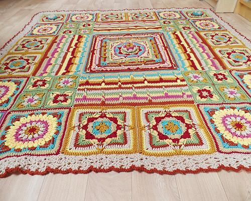 The Original Demelza Blanket By Catherine Bligh In