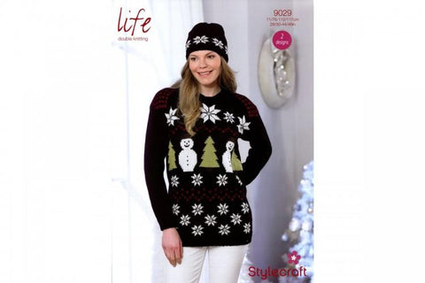 Sweater and Hat in Stylecraft Life DK (9029) - Digital Version
