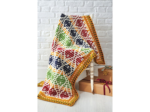 Simply Crochet Bauble Blanket in Deramores Studio DK