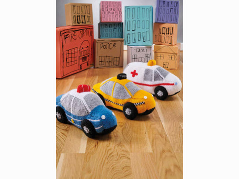 Simply Knitting Toy Cars Colour Pack by Amanda Berry in Hayfield Bonus DK