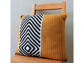 Sargasso Cushion by Leonie Morgan in Deramores Studio DK