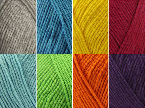 Bohemian Temperature Wrap Colour Pack by It's All in A Nutshell in Scheepjes Cotton 8