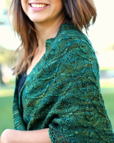 Secret Garden Shawl by Never Not Knitting