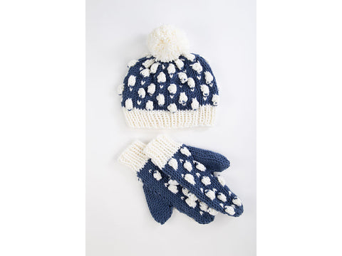Sheep in the Snow Bobble Hat   Scarf by Ruth Dorrington in Deramores Studio  Chunky 4055444b643