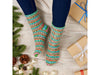 Dancer Socks Knitting Kit and Pattern in West Yorkshire Spinners Yarn