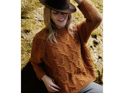Silvia Sweater by Sari Nordlund in Novita Nordic Wool