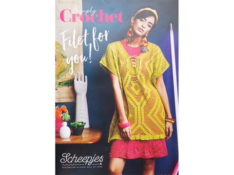 5 Exclusive Patterns From Simply Crochet Magazine in Association with Scheepjes