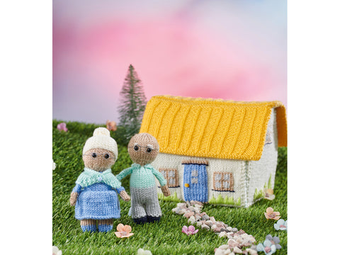 Simply Knitting Dolls House in Deramores Yarn